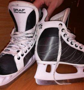 Ботинки хоккейные