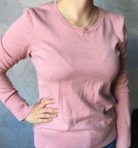 Свитер джемпер свитшот женский розовый H&M