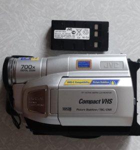 кассетная видеокамера JVC,неисправна механика