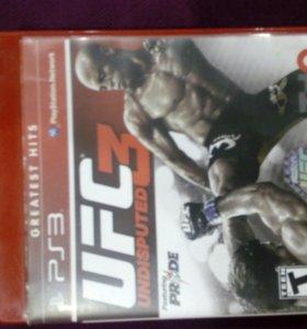 Игра для пс3.UFC 3