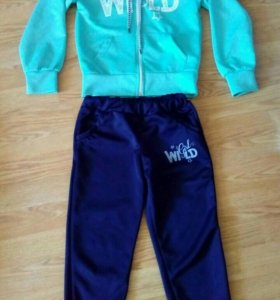 Спортивный костюм для девочки 5-6лет