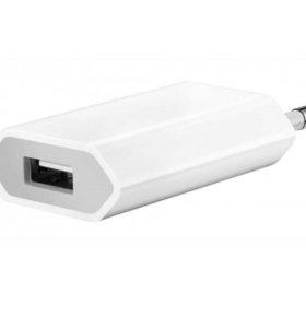 USB адаптер Apple и кабель lightning