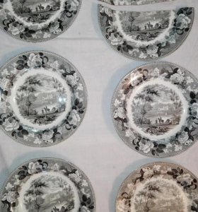 Антикварные тарелки WEDGWOOD, конец 19 века