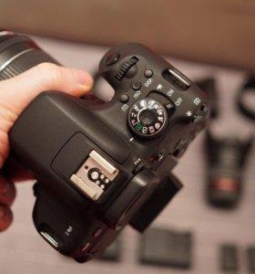 Canon 750D. Готовый набор для фото\видеосъемки