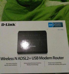 Маршрутизатор D-Link DSL-2750U