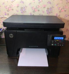 Мфу Цвет. HP Color LaserJet M176n