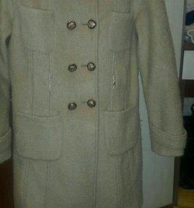 Пальто осень зима 44-46 размер
