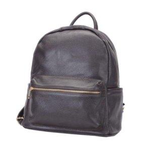 Рюкзак кожаный Laura Di Maggio, новый