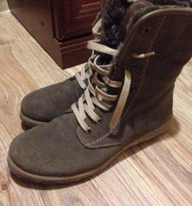 Новые зимние ботинки Rieker