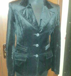 Пиджак 46 размер вельвет