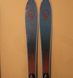 Горные лыжи Salomon BBR 7.9 skis blue/brown sz 179