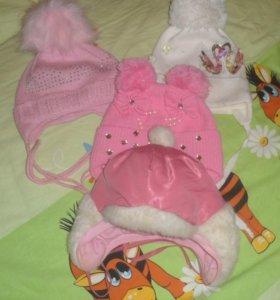 4 шапочки на девочку