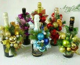 Новогодние сладкие букетики***