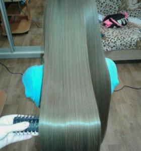 Кератин.Каратиновое выпрямление волос.