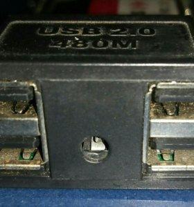 Usb-media слот.