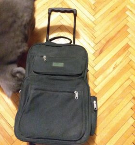 Рюкзак с роликами, рюкзак тележка