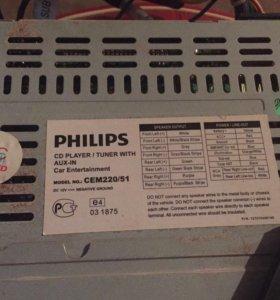 Автомагнитола Philips