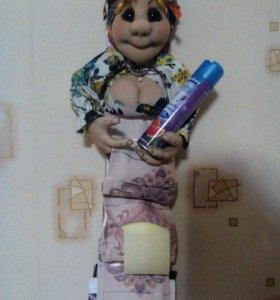 """Держатель туалетной бумаги ,,Мадам Фу-Фу"""""""""""