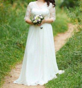 Свадебное платье 50 XL