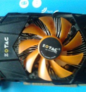 "Nvidia ""Zotac""geforce gtx 650 1 gb.(торг)"