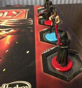Настольная игра Монополия Monopoly Star Wars