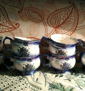 Сервиз чайный керамический