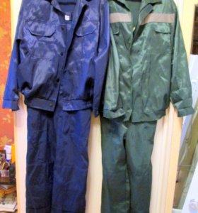 Костюмы из саржи(куртка +комбез)