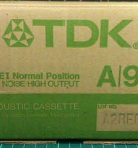 Продам аудиокассету TDK A 90 (1986 г. ), новая.