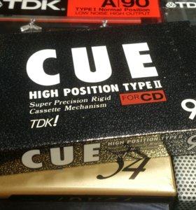 Продам Аудиокассету TDK CUE 90 Black (1989 год)