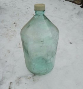 Бутыль, стекло,  20 литров, 2 шт