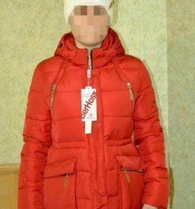 Зимняя куртка новая р. 46-48