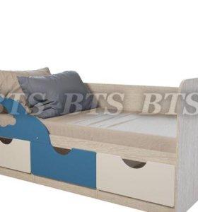 Кровать детская Минима Скай