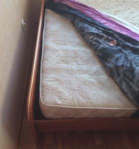 Продам кровать и диван