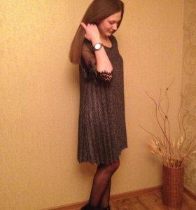 Платье из люрекса