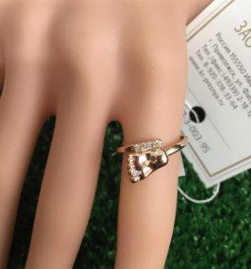 Кольцо (позолочённое)