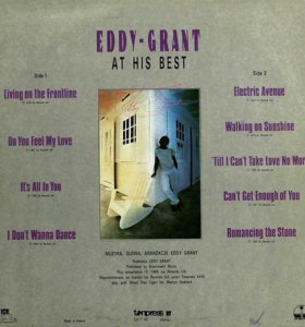 """EDDY-GRANT """"AT HIS BEST"""""""