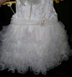 Прокат детское платье на 1 год