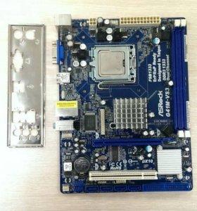 Комплект MB G41M-VS3, s775, DDR3 + CPU E5200