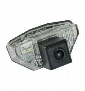 Штатная камера заднего вида для Honda