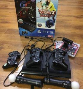 Игровая приставка PS3 super slim