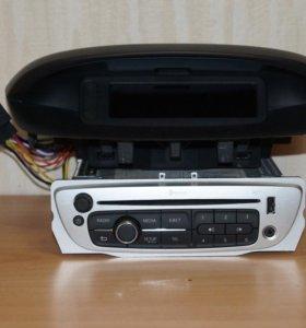 Магнитола Renault Megane 3, USB