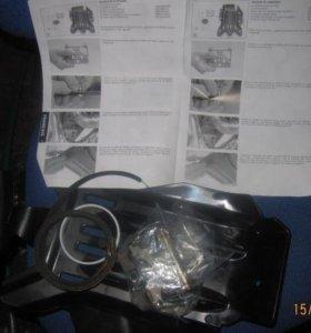 Защита двигателя (большая пластиковая) ктм