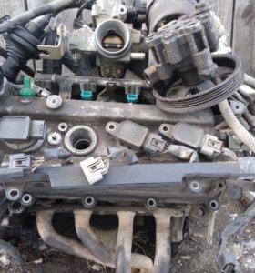 Двигатель 1SZ-fe в разбор