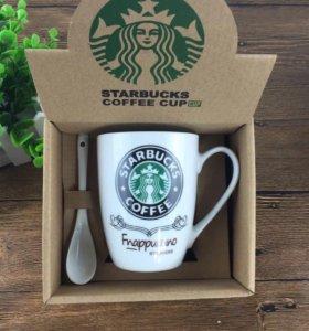 Кружка Starbucks. Новые. В упаковках.