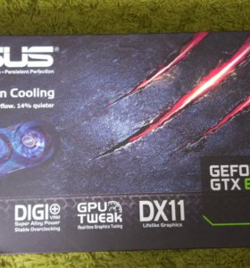 Asus GeForce GTX 650 Ti 1Gb