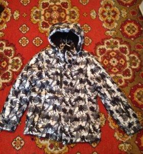 Куртка зимняя на юношу