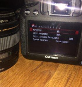 Фотоаппарат Canon 6D + объектив EF 85mm f/1.8 USM