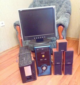 Процессор LG OPTIMUN NIX. И монитор acer