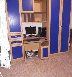 шкаф + компьютерный стол