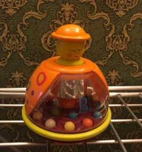 Юла-мандаринка с шариками Toys